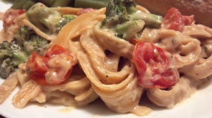 roasted veggie alfredo ranch fettucine 3