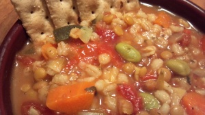 vegetable barley stew 6