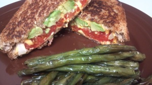 avocado tomato grilled cheese 4