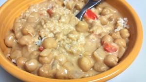 peanut sauce chickpeas 5