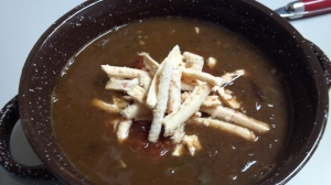 spicy black bean soup 3