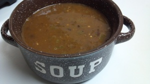 spicy black bean soup 4