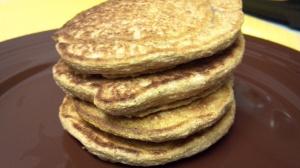vegan pumpkin pancakes 2