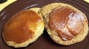 vegan pumpkin pancakes 6