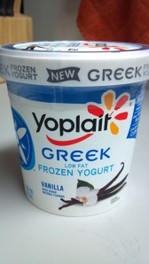 WIAW frozen yogurt
