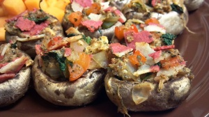 bacon cheese mushrooms 7 y