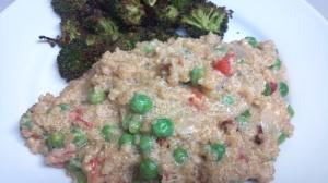 quinoa n peas 2