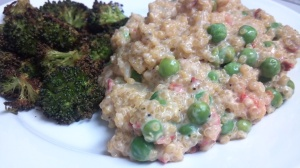 quinoa n peas