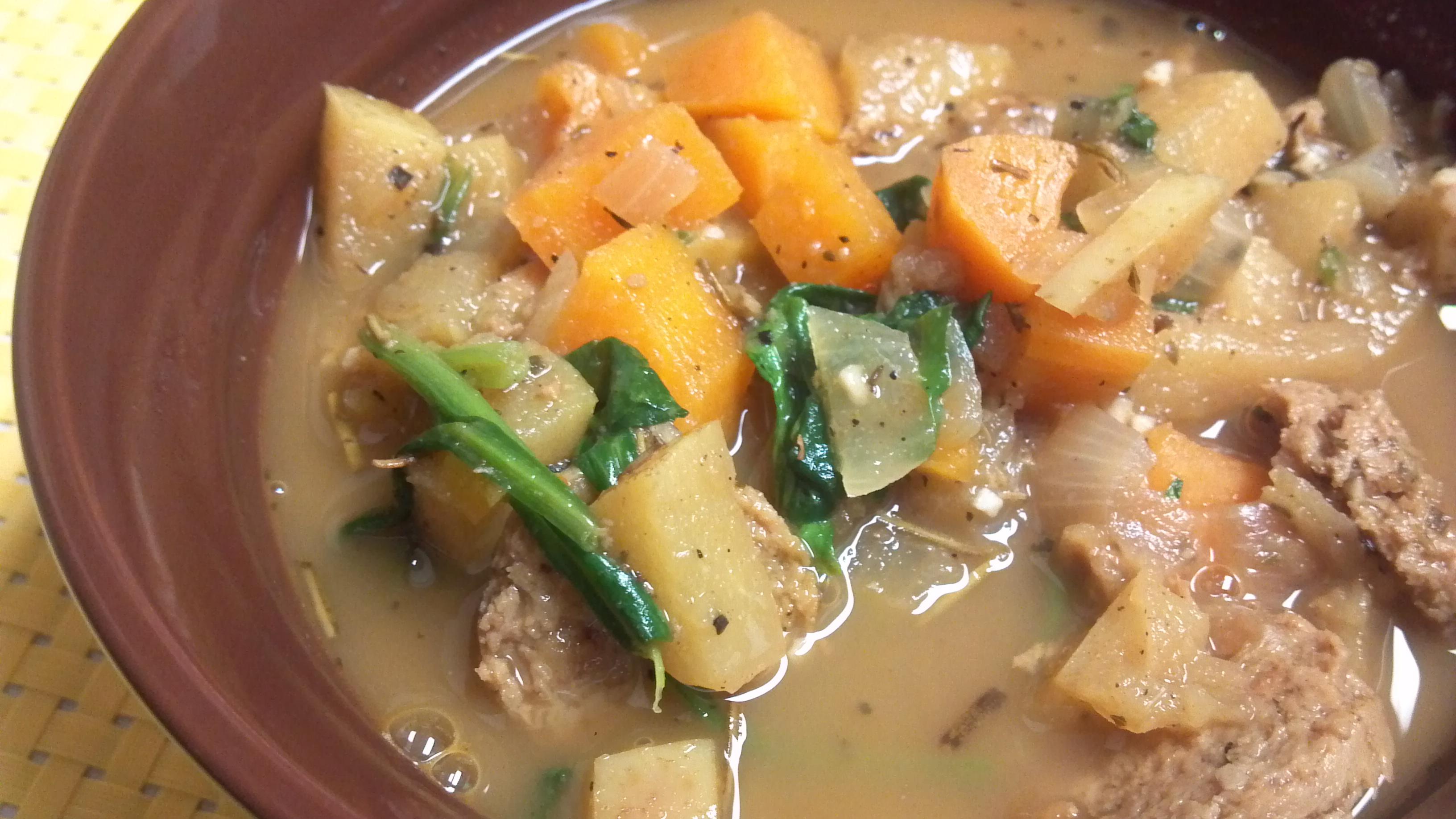 Sweet Potato And Sausage Soup Recipes — Dishmaps
