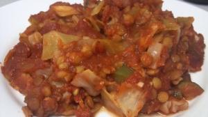 lentil cabbage casserole 5