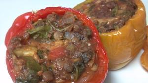 lentil stuffed peppers 2