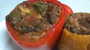 lentil stuffed peppers 5