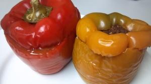 lentil stuffed peppers 7