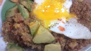 Mexican breakfast quinoa 2