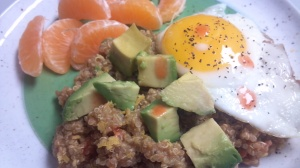 Mexican breakfast quinoa 5