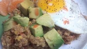 Mexican breakfast quinoa