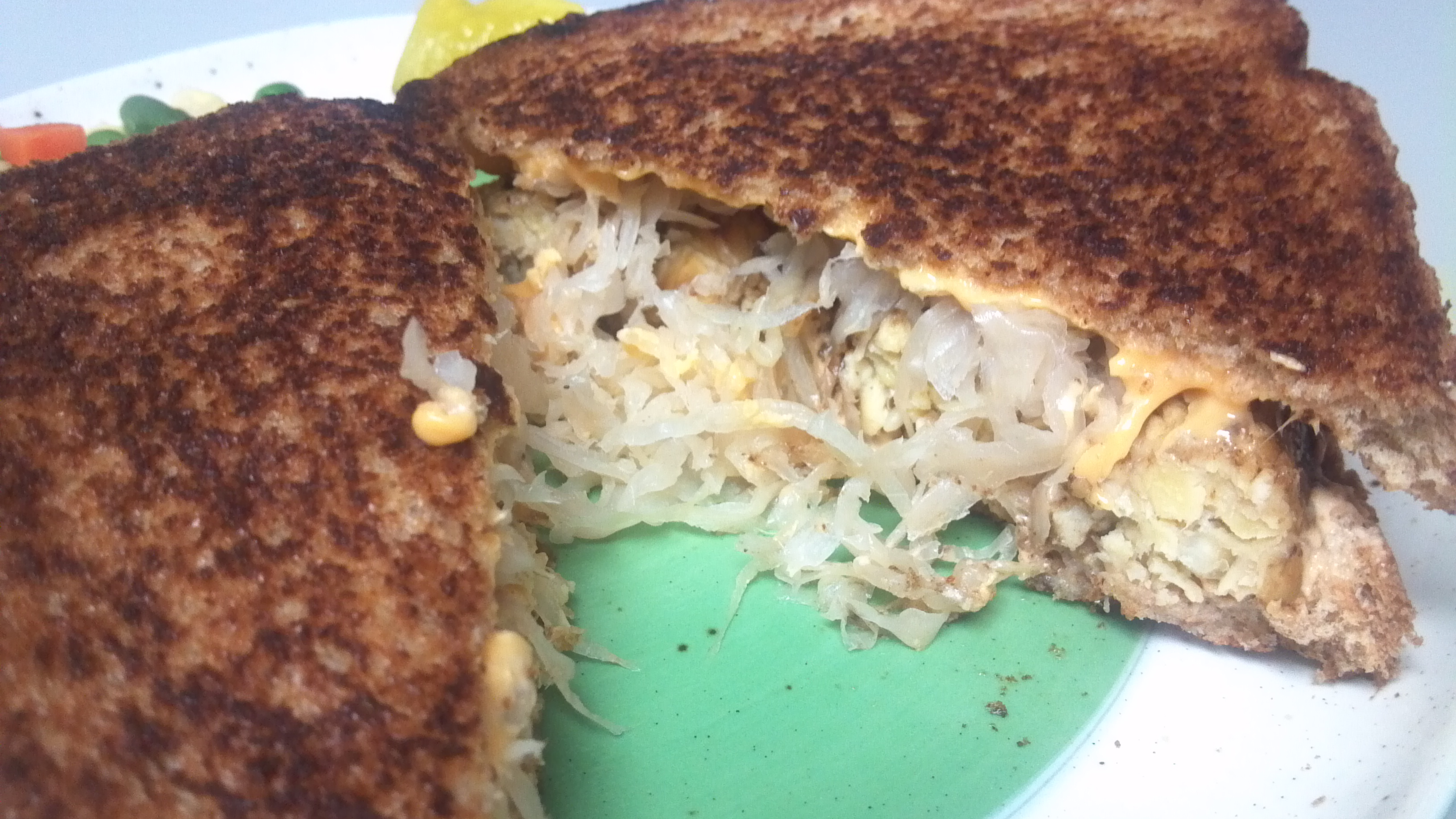 Tempeh Reuben Sandwich – Clean Eating Veggie Girl