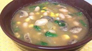 white bean mushroom chili 4