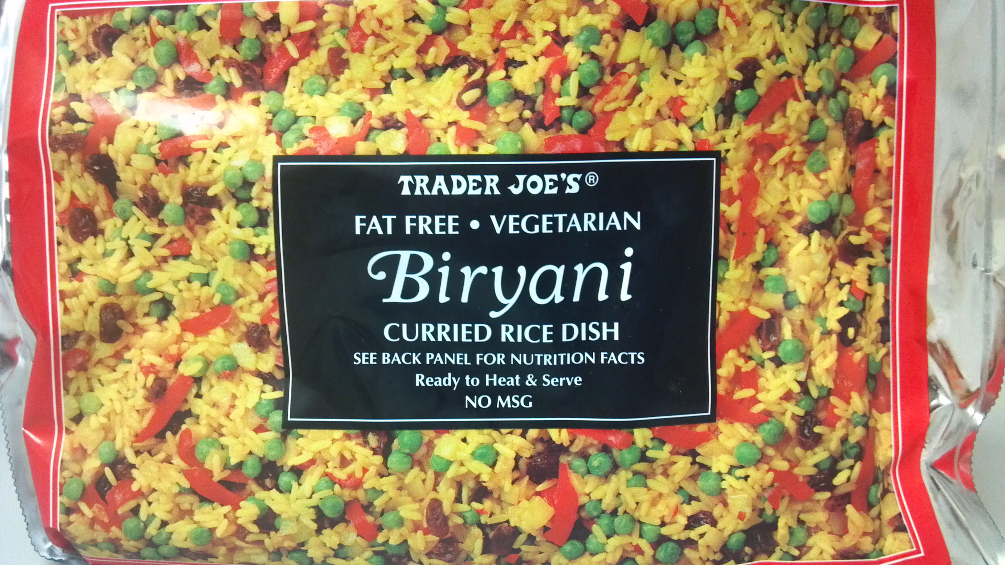 Trader Joe S Tuesday Biryani Green Beans Clean Eating Veggie Girl