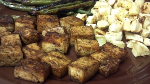 Asian baked tofu 4 y