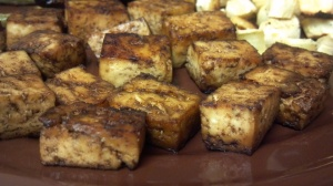 Asian baked tofu 6 y