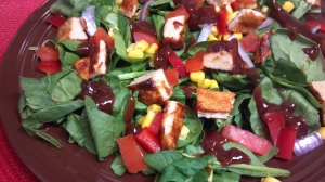 bbq chicken salad 5