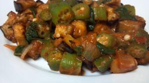 eggplant okra bake 2