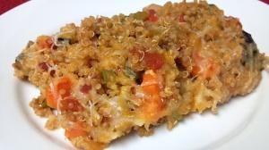 southwest quinoa bake 3