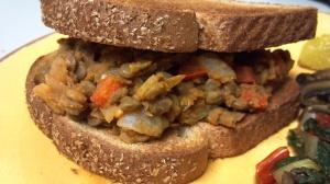 Thai lentil sloppy joes 10 yy
