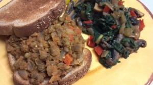 Thai lentil sloppy joes 6 y
