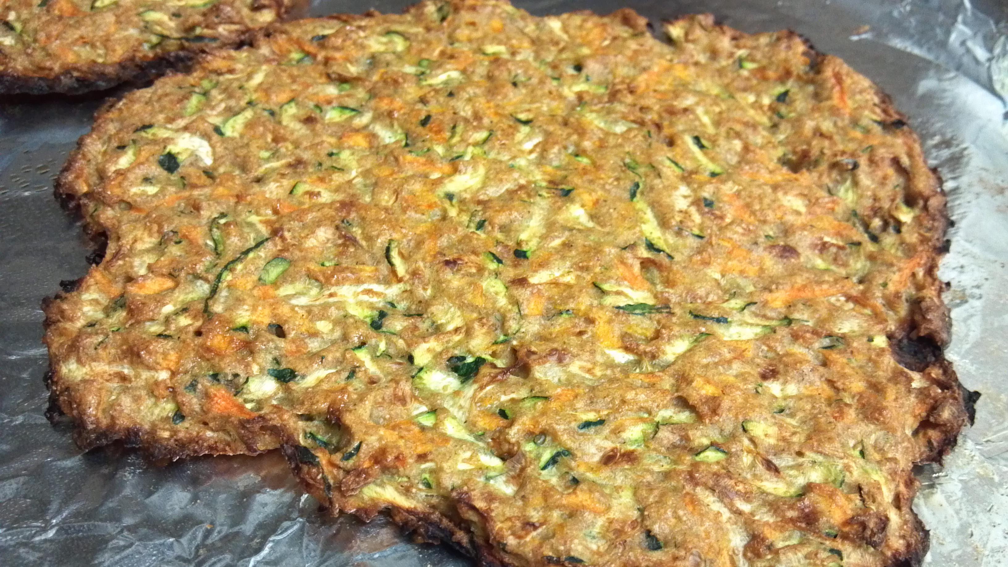 Butternut Squash Tostadas with Zucchini and Carrot Tostada Shells ...