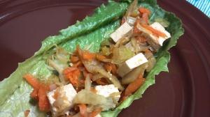 tofu veggie lettuce wraps 5