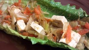tofu veggie lettuce wraps 6
