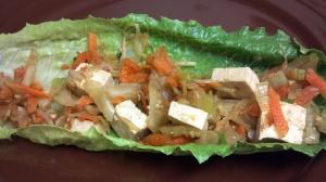 tofu veggie lettuce wraps 8