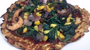 bbq veggie squash pizzas 6