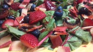 berry bacon salad 3