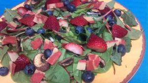 berry bacon salad 4