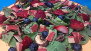 berry bacon salad 6