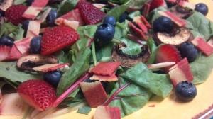 berry bacon salad 8