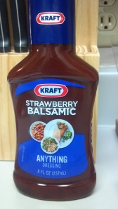 berry bacon salad