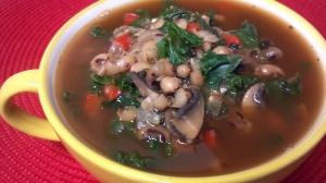 friday favorite black eye kale soup