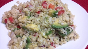 friday favorite guac cauliflower rice 2