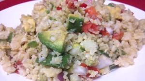 friday favorite guac cauliflower rice