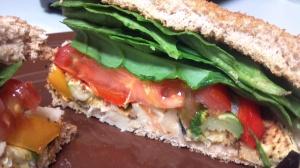 roasted veggie bean sandwich 8