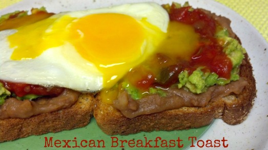Mexican breakfast toast 3
