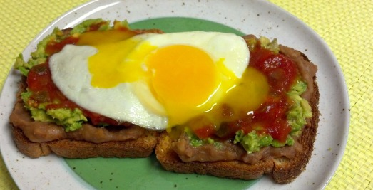 Mexican breakfast toast 6y edited