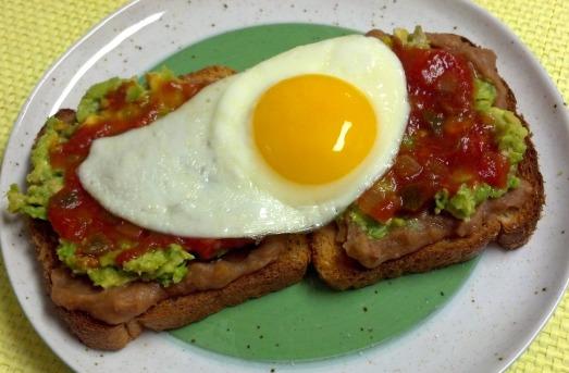 Mexican breakfast toast 7y editeed