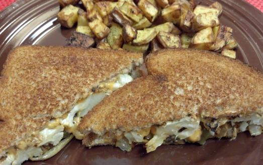 cauliflower grilled cheese 7 y