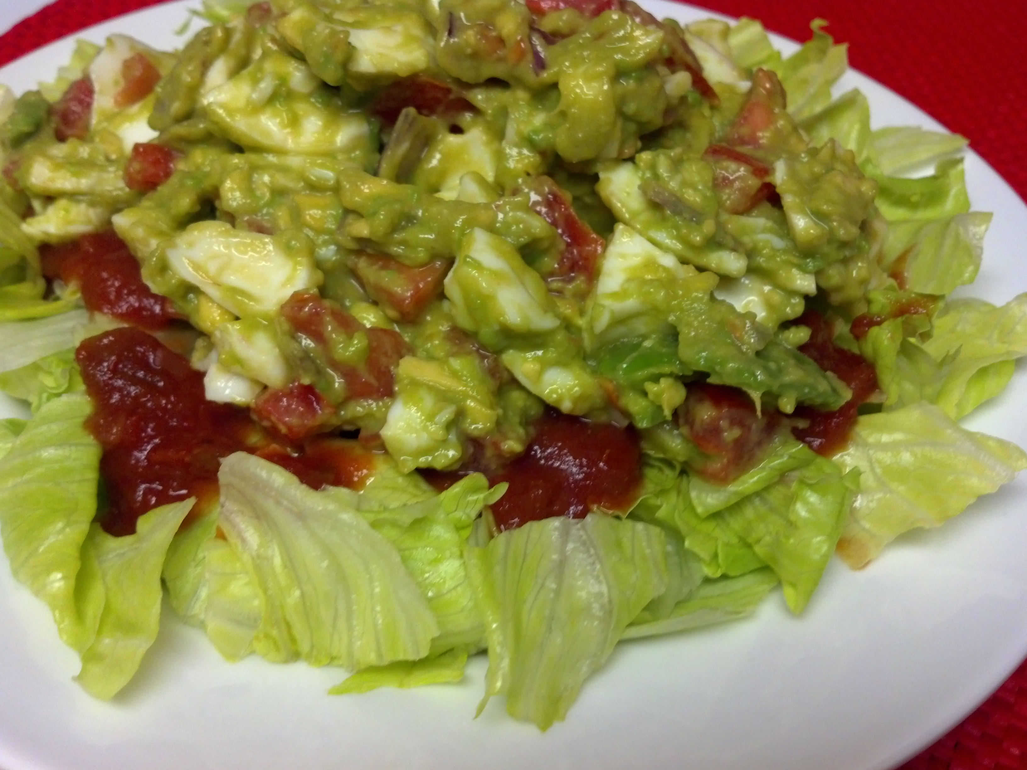 Guacamole Salad Recipe Dishmaps