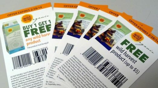 wild harvest coupons
